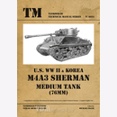 U.S. WW II & Korea M4A3 Sherman Medium Tank (76MM) -...