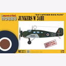 Junkers W 34HI RAF captured Back Plane, Special Hobby...
