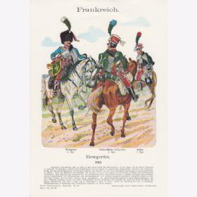 RUSSLAND 1813 Uniformtafel Gr.4//Nr.35 Russische Husaren