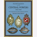 Pandis Flight Badges of the Central Powers 1914-1918,...