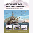 US Standard-Type Battleships 1941-45 (2) Tennessee,...