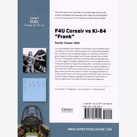 F4U Corsair vs Ki-84 Frank - Pacific Theater 1945 (Duel Nr. 73) - Edward M. Young