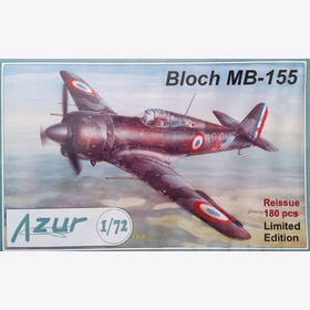 Bloch MB-155 - Azur A008 1:72 Limited Edition