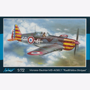 Morane-Saulnier MS-406C.1 Red & Yellow Stripes - Azur...