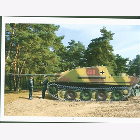 Trojca Panther and Jagdpanther in Color Modellbau Panzer Tank