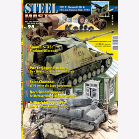 STEELMASTER Nr. 95 - Wheeled and tracked vehicles of yesterday and today in the original and model