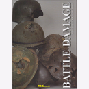 Lock / Fisher - Battle Damage Helme 1.+ 2. World War
