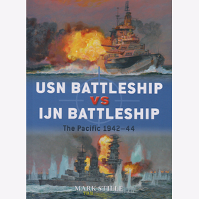 Stille: USN Battleship vs IJN Battleship - The Pacific 1942-44 (Duel Nr. 83)