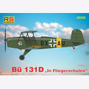 Bü 131D In Fliegerschulen, M 1/72, RS Models 92205