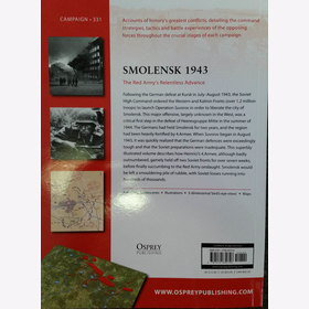 Forczyk: Smolensk 1943 - The Red Armys Relentless Advance (Campaign 331)