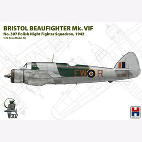 Hobby2000 1:72 Bristol Beaufighter Mk. VIF Polish Night Fighter Squadron 72003 Modellbausatz