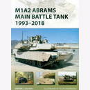 Osprey New Vanguard 268 M1A2 Abrams Main Battle Tank...