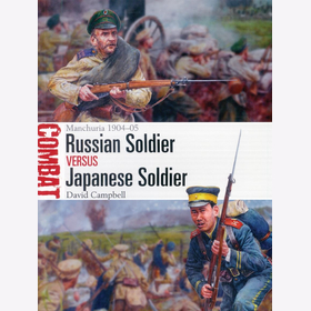 Osprey Combat 39 Russian Soldier VS Japanese Soldier Manchuria 1904-1095