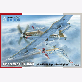 Special Hobby 72372 Blohm Voss BV155B Luftwaffe 46 High Altitude Fighter 1:72