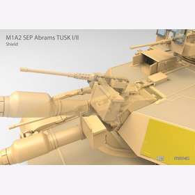 M1A2 Abrams Tusk I/ Tusk II mit Donald Trump Figur  Meng TS-026  1:35 Panzer USA