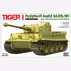 Tiger I Initial Production Early 1943 früh Rye Field Model RM-5001 1:35 Plastikmodellbau