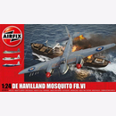 De Havilland Mosquito Airfix A25001A 1:24 WW2 Royal Air...