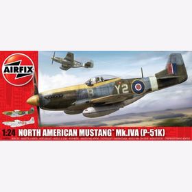 North American Mustang Mk. IV A Airfix A14003A 1:24 WW2 Royal Air Force