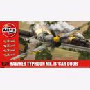 Hawker Typhoon Mk.IB Car Door Airfix A19003 1:24 WW2...