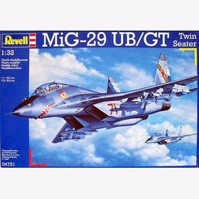 Mig-29 UB/GT Twin Seater Revell 04751