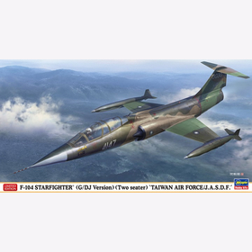 F-104 Starfighter (G/ DJ Version) (Two seater) Taiwan Air Force/ J.A.S.D.F. Hasegawa 07473 1:48 LIMITED EDITION