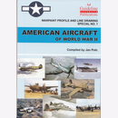 American Aircraft of World War II Warpaint Profile and...