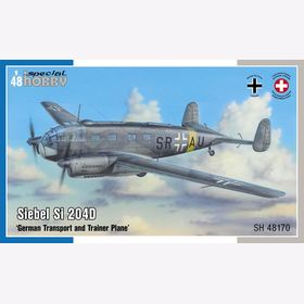Siebel Si 204D ´German Transport and Trainer Plane´Special Hobby 48170 1:72