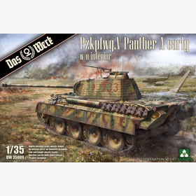 Pzkpfwg. V Panther A early w/o interior Das Werk DW 35009 1:35