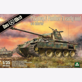 Pzkpfwg. V Panther A early/mid w/o interior Das Werk 35010 1:35