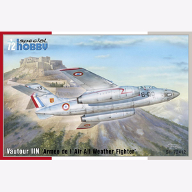 Vautour IIN Armee de l´Air All Weather Fighter Special Hobby 72412 1:72
