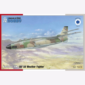 Vautour IIN IAF All Weather Fighter Special Hobby 72410 1:72
