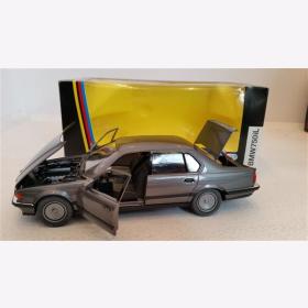 BMW 750i Klassik bronze metallic M 1:24 Schabak 1620 Modellbau Auto OVP