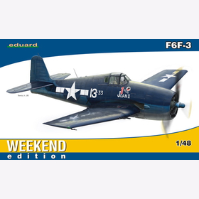 F6F-3 Eduard 84135 Weekend edition Hellcat 1:48