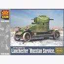 CSM35003 Lanchester Armoured Car Russian Service 1:35...