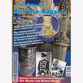 IMM 201 Internationales Militaria-Magazin Orden Georgische Legion