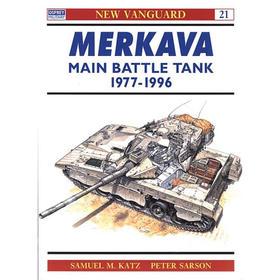 MERKAVA MAIN BATTLE TANK 1977-1996 (NVG Nr. 21)
