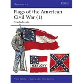 Flags of the American Civil War, 1: Confederate (MAA Nr. 252)
