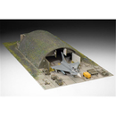 Diorama Eurofighter Typhoon, Shelter & Equipment 1:72