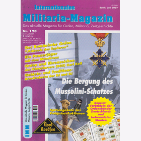 Internationales Militaria-Magazin IMM Nr. 128